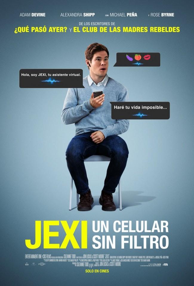 Jexi: Un Celular Sin Filtro (estreno)